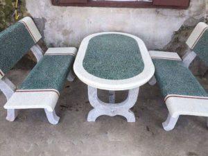 bàn ghế đá sân vườn 1