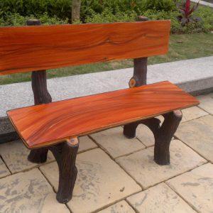 ghế đá giả gỗ đẹp
