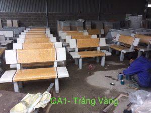 bàn ghế đá gh6