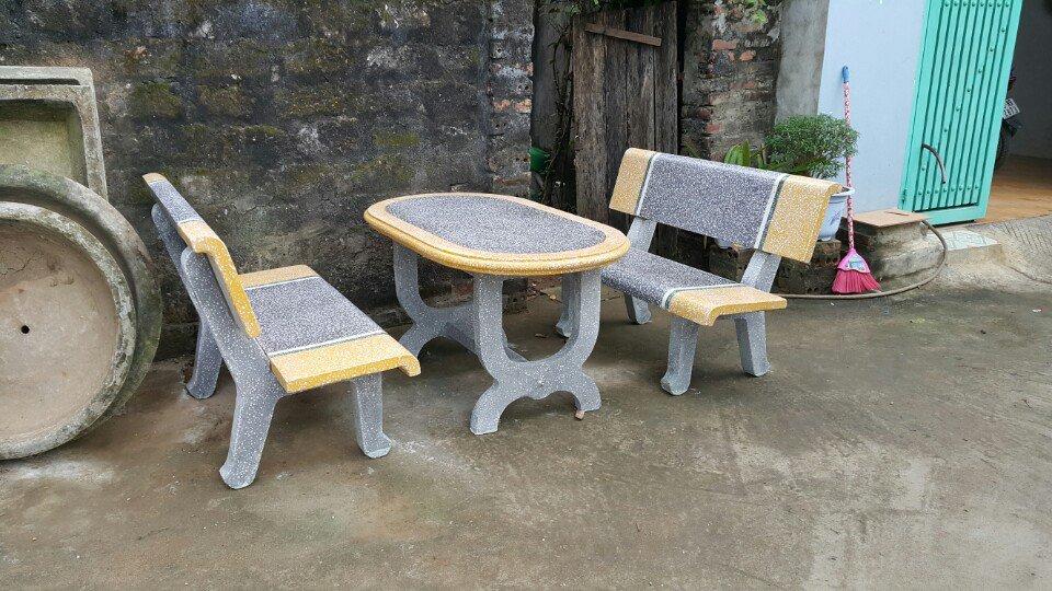bộ bàn ghế đá hà nội