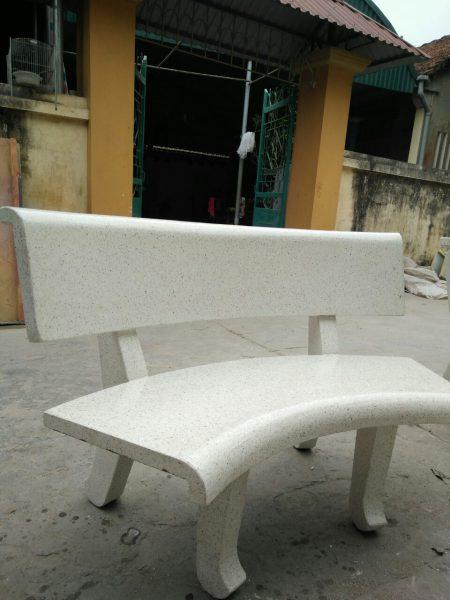 ghế đá cong 2 mặt