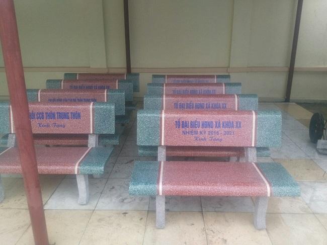 báo giá ghế đá công viên