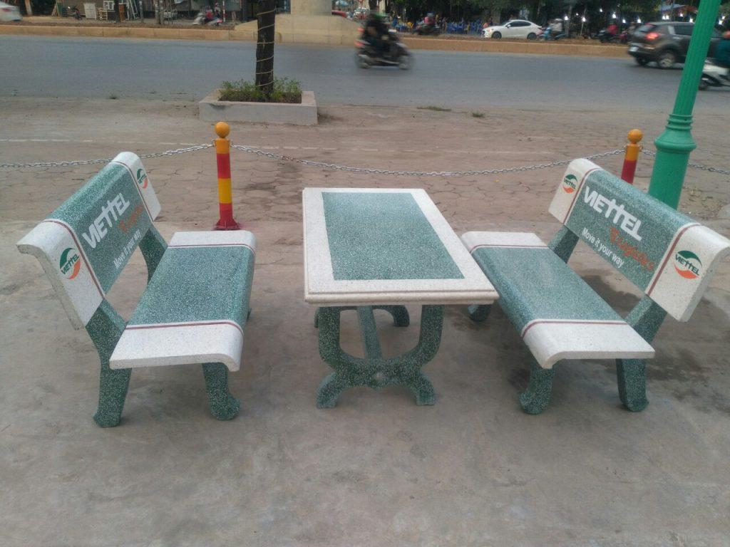 bàn ghế đá đẹp 34