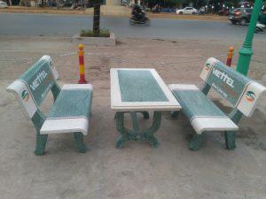 Bàn ghế đá sân vườn – đặc điểm nổi bật và những lưu ý khi mua