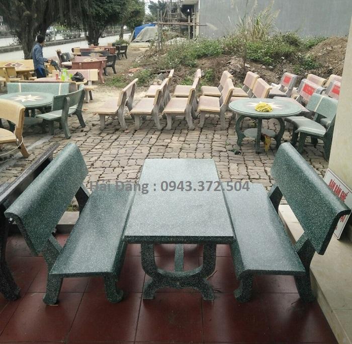 mua bộ bàn ghế đá 15