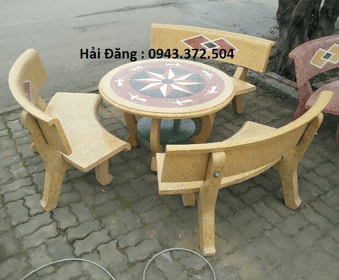 mua bộ bàn ghế đá 17