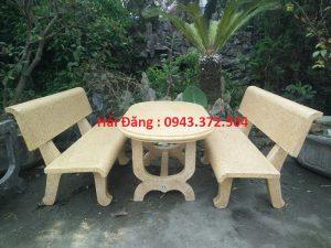 mua bộ bàn ghế đá 18