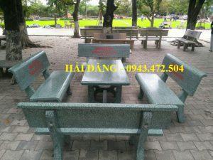 bộ bàn ghế đá x16