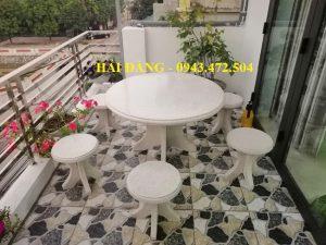 bộ bàn ghế đá x14