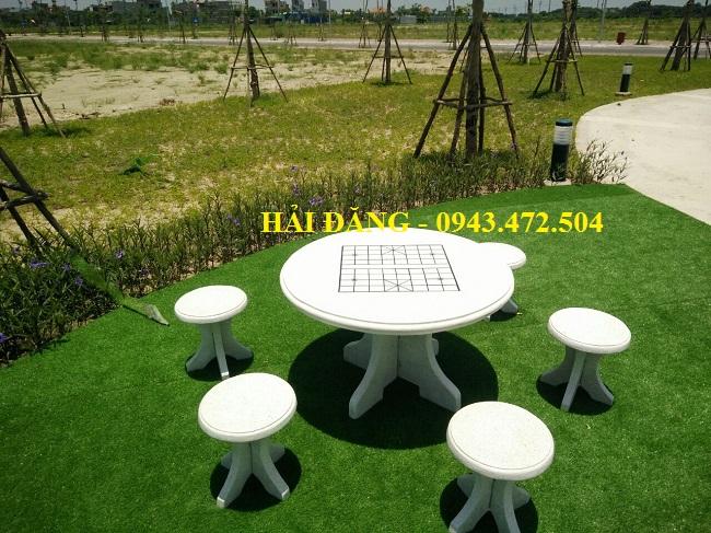 bộ bàn ghế đá x12