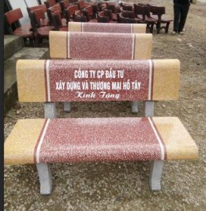 ghế đá trường học giá rẻ