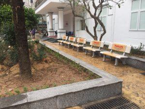 ghế đá công viên hải đăng